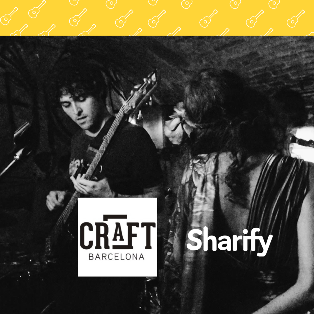 Craft Barcelona with Sharify app