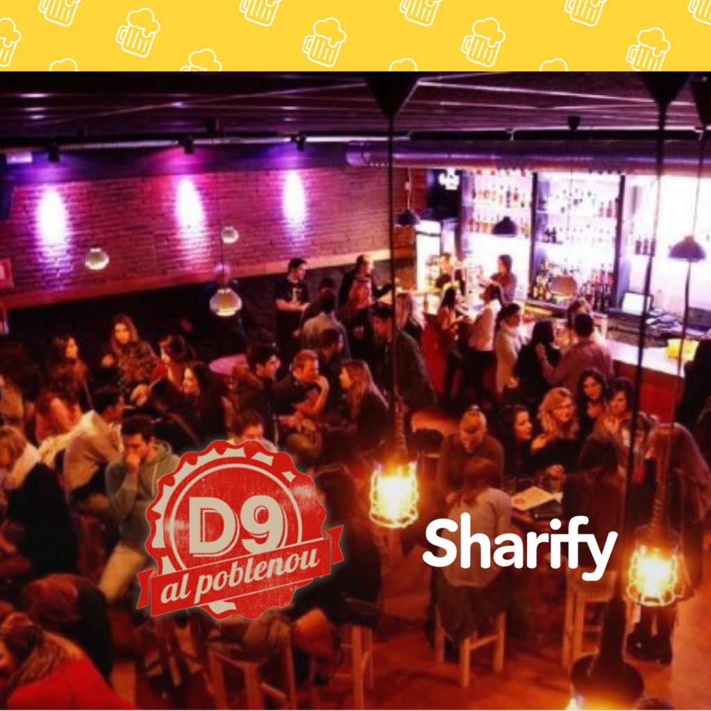 D9 with Sharify app